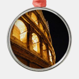 夜のColosseum メタルオーナメント