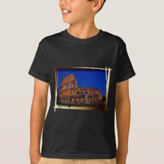 夜のColosseum Tシャツ