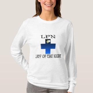 夜のLPN女性 Tシャツ