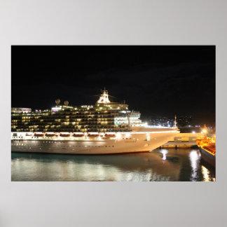 夜のMVベントゥーラの遊航船 ポスター