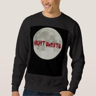 夜はパジャマのために発汗しますか。 スウェットシャツ