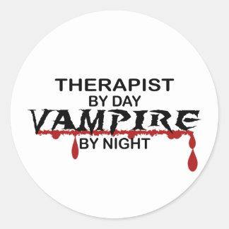 夜までにセラピストの吸血鬼 ラウンドシール