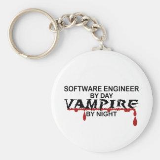 夜までにソフトウェアエンジニアの吸血鬼 キーホルダー