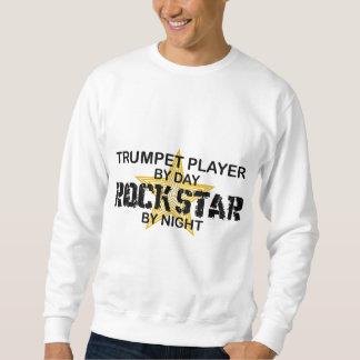 夜までにトランペットのロックスター スウェットシャツ