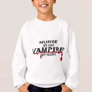 夜までにナースの吸血鬼 スウェットシャツ