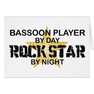 夜までにバスーンプレーヤーのロックスター カード
