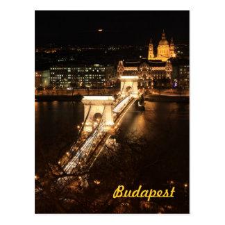 夜までにブダペスト ポストカード