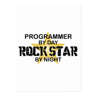 夜までにプログラマーロックスター ポストカード