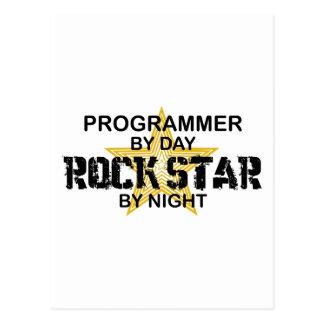 夜までにプログラマーロックスター 葉書き