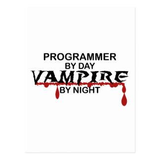 夜までにプログラマー吸血鬼 はがき