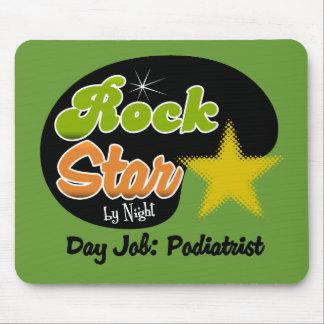 夜までにロックスター-日の仕事のPodiatrist マウスパッド