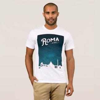 夜までにローマ- Tシャツ