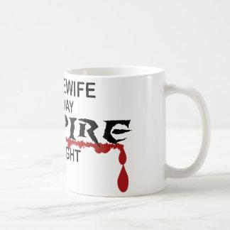 夜までに主婦の吸血鬼 コーヒーマグカップ