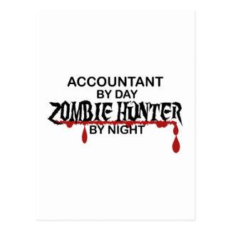 夜までに会計士のゾンビのハンター ポストカード