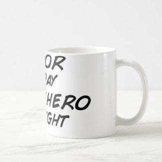 夜までに俳優のスーパーヒーロー コーヒーマグカップ