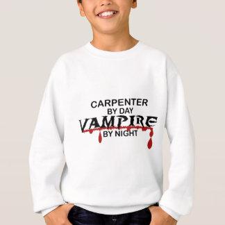夜までに大工の吸血鬼 スウェットシャツ