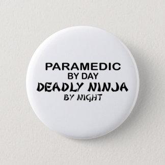 夜までに救急医療隊員の致命的な忍者 缶バッジ