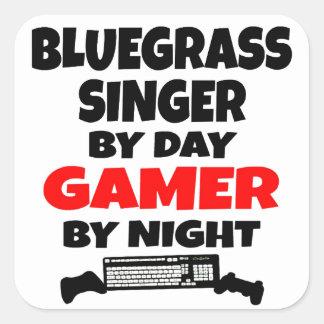 夜までに日のゲーマーによるBluegrassの歌手 スクエアシール