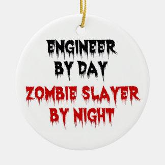 夜までに日のゾンビの殺害者によるエンジニア セラミックオーナメント