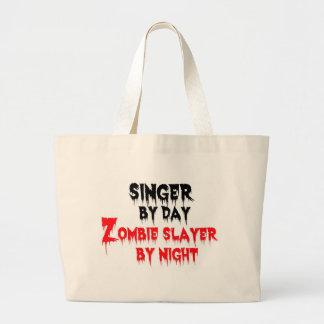 夜までに日のゾンビの殺害者による歌手 ラージトートバッグ