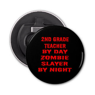 夜までに日のゾンビの殺害者による第2等級の先生 栓抜き