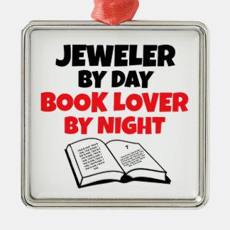 夜までに日の愛書家による宝石屋 メタルオーナメント