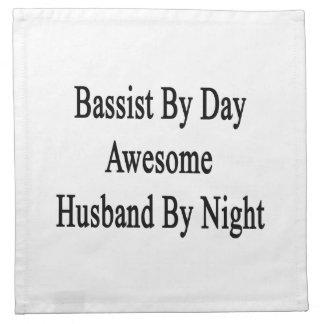 夜までに日の素晴らしい夫によるコントラバス奏者 ナプキンクロス