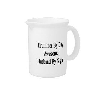 夜までに日の素晴らしい夫によるドラマー ピッチャー
