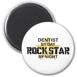 夜までに歯科医のロックスター マグネット