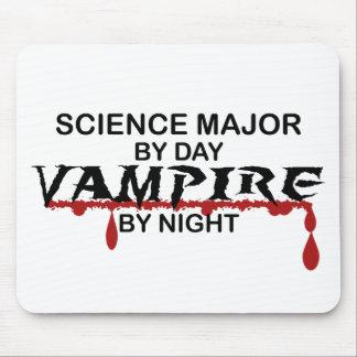 夜までに科学の専攻のな吸血鬼 マウスパッド