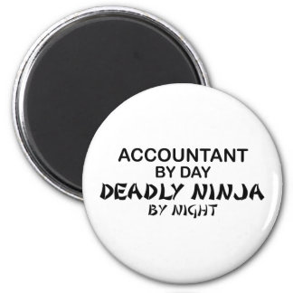 夜までに致命的な忍者-会計士 マグネット