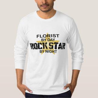夜までに花屋のロックスター Tシャツ