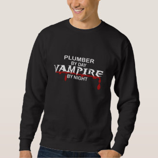 夜までに鉛管工の吸血鬼 スウェットシャツ