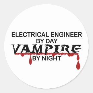 夜までに電気技師の吸血鬼 ラウンドシール