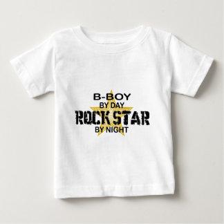夜までにB少年のロックスター ベビーTシャツ