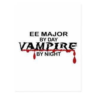 夜までにEEの専攻のな吸血鬼 ポストカード