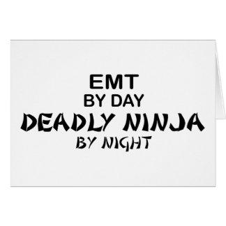 夜までにEMTの致命的な忍者 カード