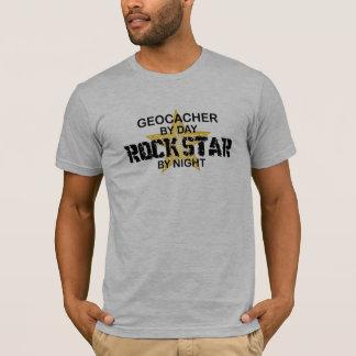 夜までにGeocacherのロックスター Tシャツ
