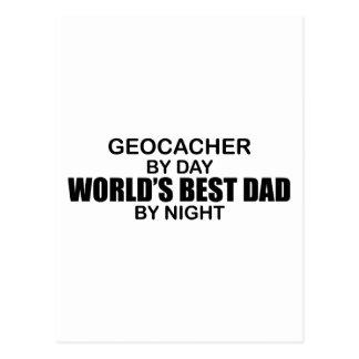 夜までにGeocacherの世界で最も最高のなパパ ポストカード