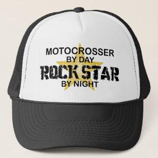 夜までにMotocrosserのロックスター キャップ