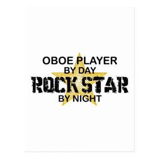 夜までにOboeのロックスター ポストカード