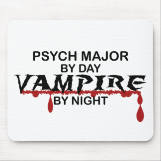 夜までにPsychの専攻のな吸血鬼 マウスパッド