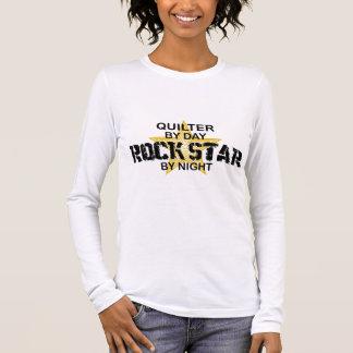 夜までにQuilterのロックスター 長袖Tシャツ