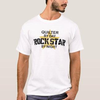 夜までにQuilterのロックスター Tシャツ