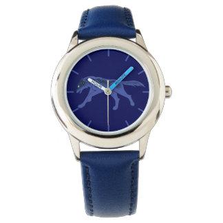 夜オオカミ 腕時計