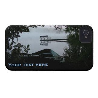 夜カスタムなiPhone 4の穹窖の湖 Case-Mate iPhone 4 ケース