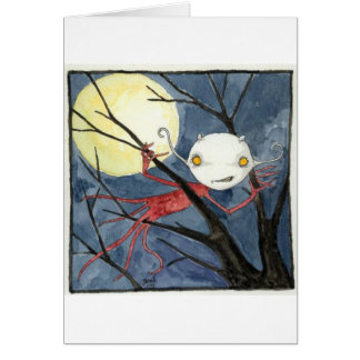 """""""夜クリープ""""の空白のなカード カード"""