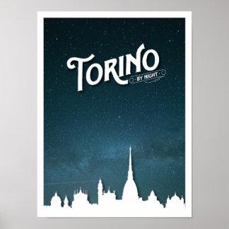夜スカイラインによるトリノ-ポスター ポスター