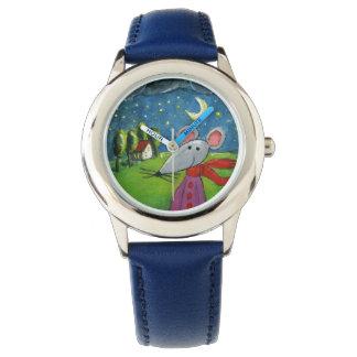 夜マウス 腕時計