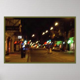 夜ライト汚点 ポスター
